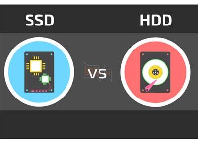 So sánh ổ cứng HDD và SSD