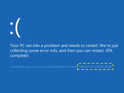 Fix lỗi màn hình xanh chết chóc