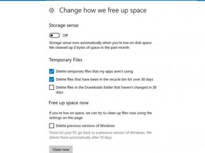 cải thiện hiệu suất trong windows 10