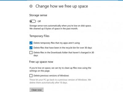 Cải thiện hiệu suất windows 10