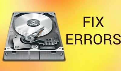sửa lỗi ổ cứng