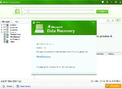 phần mềm iSkysoft Recover for Mac
